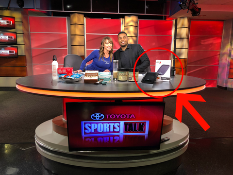 Precision Digital Kitchen Scale was recently featured on Sports Talk with Robert Burton on News Channel 8 DC