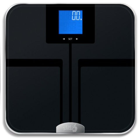 EatSmart Precision Digital Bathroom Scale w/ Extra Large Lighted ...