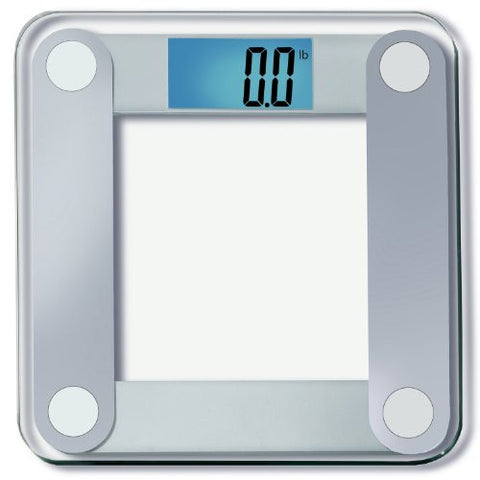 "EatSmart Precision Digital Bathroom Scale w/ Extra Large Lighted Display, 400 lb. Capacity and ""Step-On"" Technology"