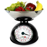 EatSmart Precision Retro Mechanical Kitchen Scale w/ 11 lb. Capacity and Oversized Dial