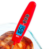EatSmart™ Precision Elite Thermocouple Digital Food Thermometer Checking Temperature