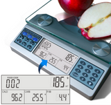 EatSmart Digital Nutrition Scale - Professional Food and Nutrient Calculator LCD Screen