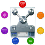 EatSmart Digital Nutrition Scale - Professional Food and Nutrient Calculator Features