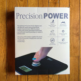 EatSmart Precision Power Battery Free Digital Bathroom Scale