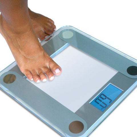 eatsmart precision digital bathroom scale w/ extra large lighted