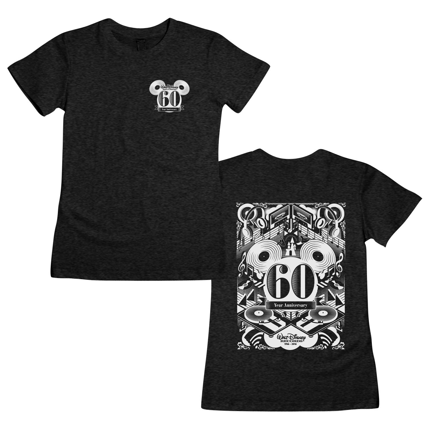 WDR 60 Year Anniversary Pocket Women's T-Shirt
