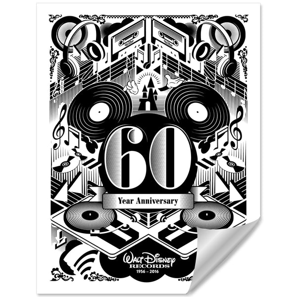 WDR 60 Year Anniversary Lithograph