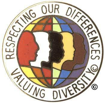Respecting Our Differences Pin