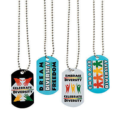 Embrace Diversity Necklaces