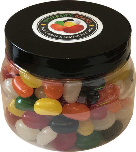 diversity jelly bean jar
