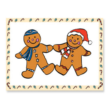 Gingerbread Cookies Interfaith Holiday Greeting Cards