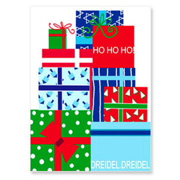 Present Stack Interfaith Holiday Greeting Cards
