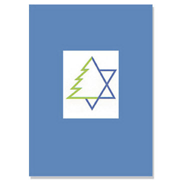 Star and Tree Holiday Cards Interfaith Cards