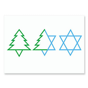 Trio Interfaith Holiday Greeting Cards