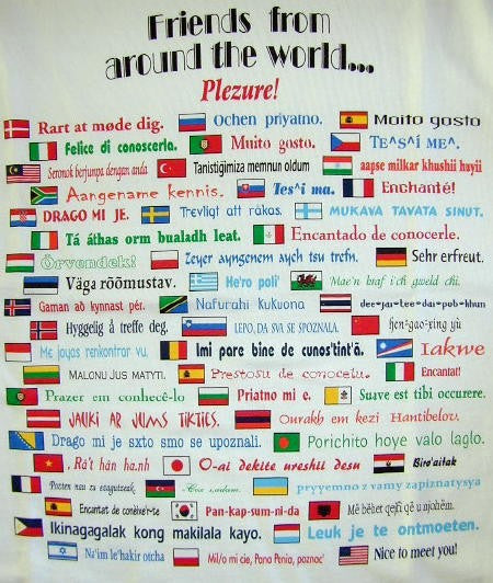 Friends From Around the World Shirt