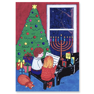 Home for the Holidays Interfaith Holiday Cards