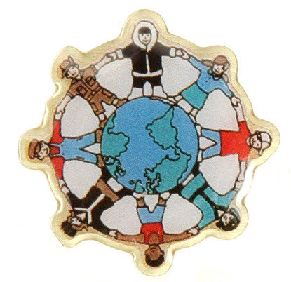 Children Around the World Pin