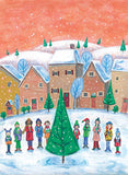 Town Carolers Holiday Cards