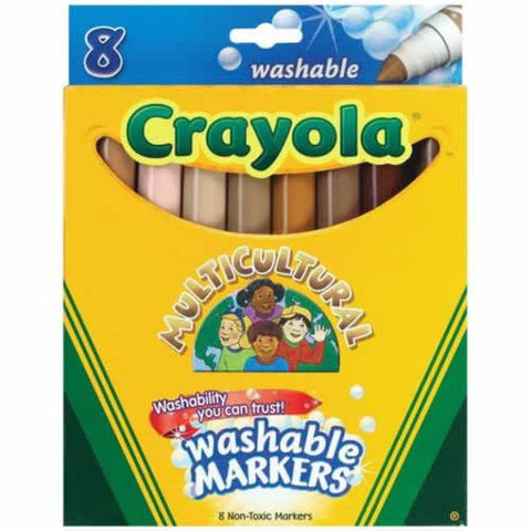 Crayola Multicultural Markers (8)