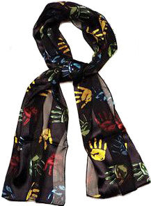 Handprints Scarf