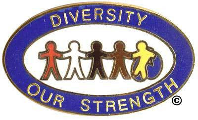 Diversity Our Strength Pin