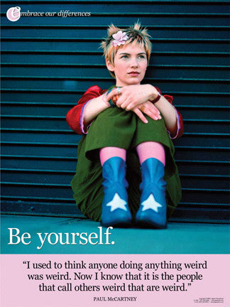 Be Yourself Poster
