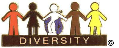 Diversity People Pin