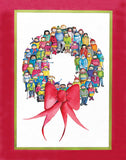 Wreath of Nations Holiday Cards
