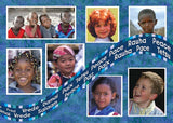 Children of the World Multicultural Holiday Cards