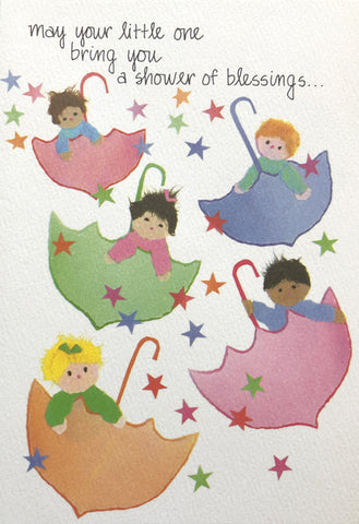 Baby Blessing Greeting Card