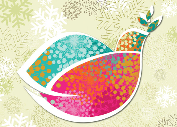 Delightful Dove Holiday Cards