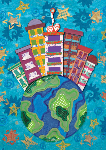 Earth City Holiday Cards