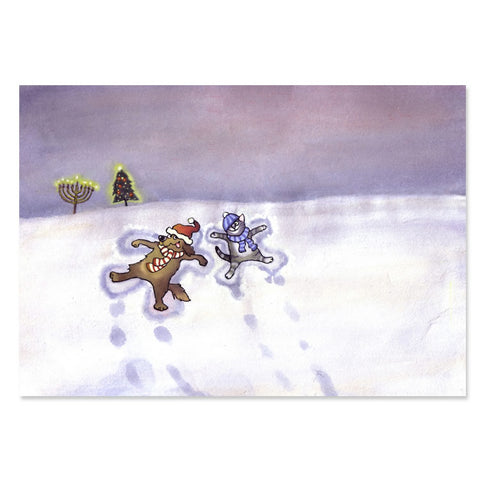 Interfaith Snow Angels Holiday Greeting Cards