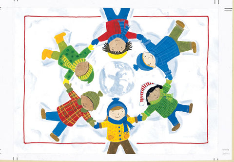 Hands Around The World Holiday Cards