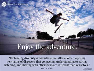 Enjoy the Adventure Poster & Banner