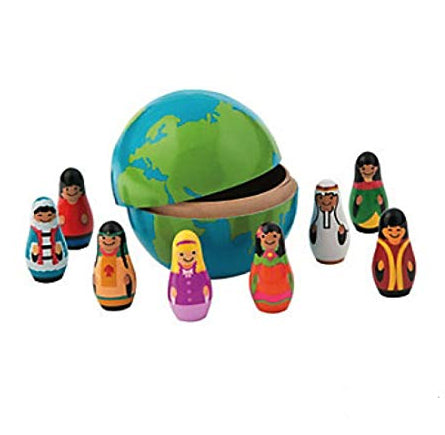Children Around the World Nesting Dolls