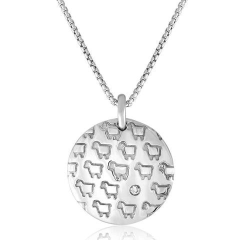 'Rock Your Flock' Pendant - Front
