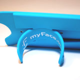 myFace Blue Silicone Phone Sleeve With Stand
