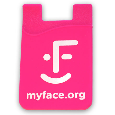 myFace Pink Silicone Phone Sleeve
