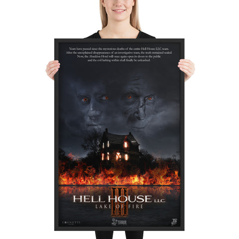 Hell House LLC III Official Poster (Framed)