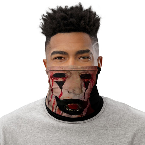 Clown Face Mask (Black)
