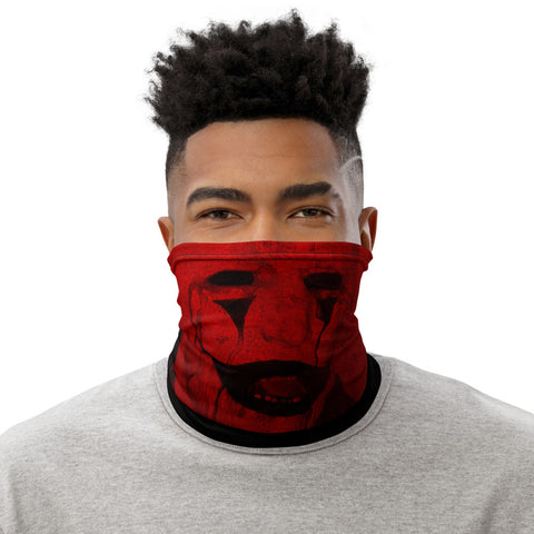Clown Face Mask (Red)