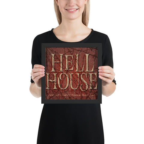 Hell House LLC Sign (Framed)