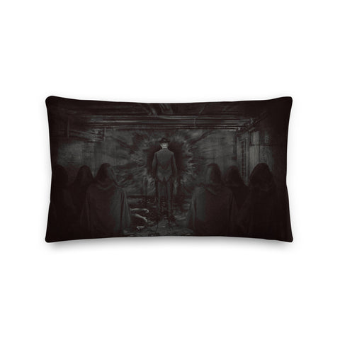 Tully and His Cult Limited Edition Print Pillow