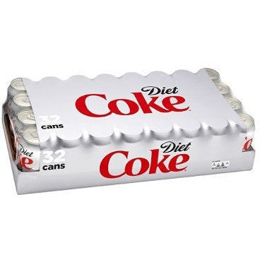 DIET COKE {CASE} 12OZ CANS