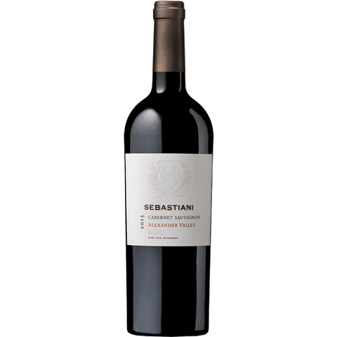 SEBASTIANI CABERNET SAUVIGNON ALEXANDER VALLEY 13 750ML - Fireside Cellars