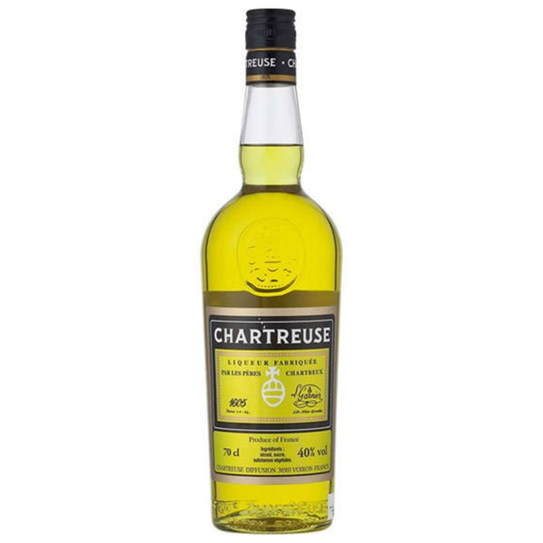 CHARTREUSE 80 PROOF YELLOW 750ML