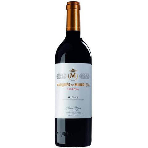 MARQUES DE MURRIETA RES RIOJA 08 750ML
