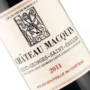 CH MACQUIN SAINT-GEORGE BORDEAUX 11