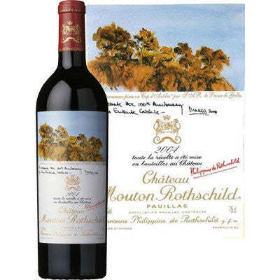 CH MOUTON ROTHSCHILD 2004 750ML